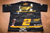 90s Rusty Wallace All Over Print T-Shirt, XL, NASCAR Racing, #2 Race Car