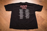 90s-Y2K Motley Crue Maximum Rock T-Shirt, L, Vintage Band Tee, 2000 Concert Tour