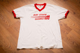 80s-90s Bay State Games Jersey, L, Vintage Uniform T-Shirt, Southeast 8 Tee