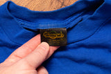 vintage t-shirt tag, changes brand, 90s