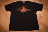 90s Godsmack XXX T-Shirt, XL, Vintage 1998, Heavy Metal Band, Hard Rock & Roll Music