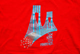 80s New York City Marathon T-Shirt, Kids/Youth, Vintage NY Tee, NYC Bridge