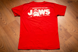 80s Jaws The Revenge Crew T-Shirt, M, Vintage Tee, Underwater Film Unit
