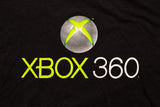 Y2K Xbox 360 Logo T-Shirt, XL, Gamer Graphic Tee, Video Game System, Tech