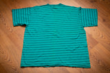 90s Panama Jack Striped T-Shirt, XL, Vintage Surf Tee, Beach