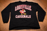90s Louisville Cardinals Mascot Long Sleeve T-Shirt, L/XL, Vintage 1990s, College University