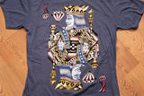 90s Avirex King of Diamonds T-Shirt, L, Vintage, Hip Hop Streetwear Graphic Tee