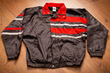 80s-90s Puma Windbreaker Jacket, S/M, Vintage, Hip Hop Streetwear, Striped