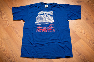 90s House of the Seven Gables T-Shirt, M, Vintage Souvenir Tee, Salem MA