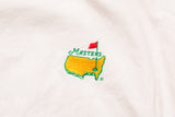 90s Masters Golf Tournament Polo Shirt, M/L, Vintage Golfer, Collared Pullover