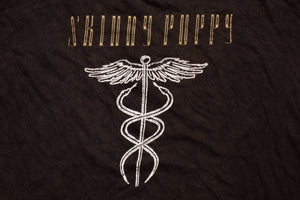 80s Skinny Puppy Censor T-Shirt, L/XL, Vintage 1980s, Electro-Industrial Band