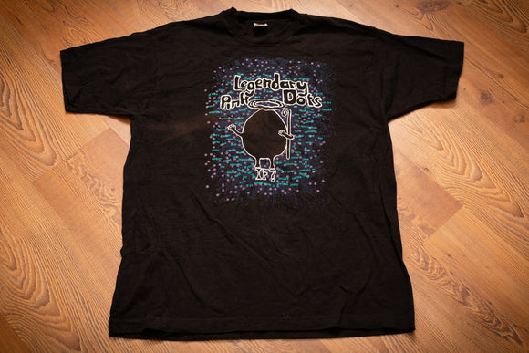 90s The Legendary Pink Dots T-Shirt, L, Vintage 1991 Tee, Rock and Roll Band