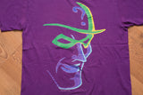 90s The Riddler Batman Villain T-Shirt, L, Vintage Tee, DC Comics Movie, Jim Carrey