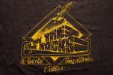 90s On the Rocks Metal Fest '92 T-Shirt, M, Vintage Tee, Destroyed, Dallas Palace