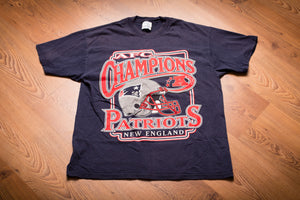 Y2K New England Patriots AFC Champions T-Shirt