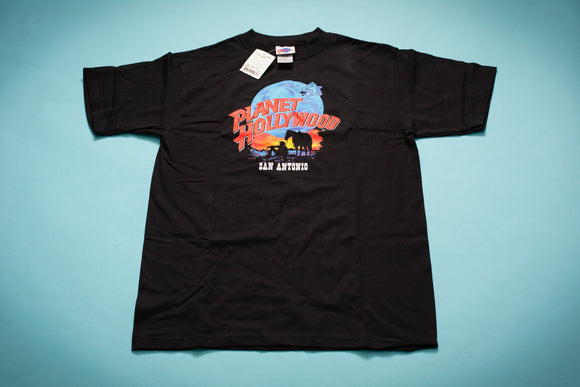 90s NWT Planet Hollywood San Antonio Texas T-Shirt