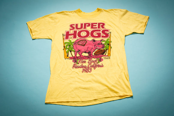 80s Washington Redskins Super Hogs T-Shirt, M, Vintage Tee, NFL Super Bowl