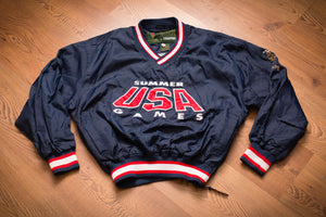 90s Starter USA 1996 Summer Games Jacket