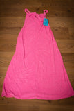 60s-70s NWT Montgomery Ward Pink French Terry Cloth Beach Dress, Vintage