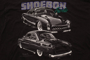 90s Shoebox Fords T-Shirt, XL, Vintage 1990s, Hip Hop, Brand X, Bash Graphic Tee