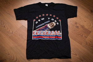 70s-80s New York Football T-Shirt, S, Vintage Tee, Generic, Giants, Gary Bynum