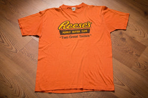 70s-80s Reese's Peanut Butter Cups T-Shirt, S/M, Vintage Tee, Hershey's Chocolate Candy