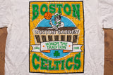 90s Celtics Boston Garden T-Shirt, L, Vintage Tee, Honor the Tradition