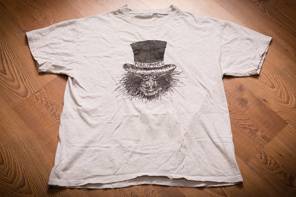 90s Porkypines T-Shirt, L, Michigan Bluegrass Band, Vintage Tee, Hipster Porcupine, Country Music