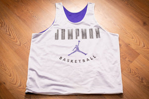 90s Michael Jordan Jumpman Jersey, XL, Nike, Vintage 1990s, Reversible Purple Mesh, NBA Basketball