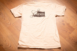 70s-80s Hanes New Frontiers T-Shirt, Cowboy Hat Logo, M, Vintage 1970s-1980s, Rodeo