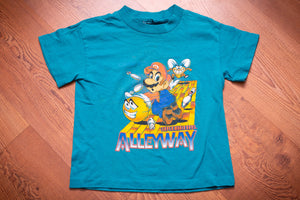 80s Super Mario Bros Alleyway T-Shirt, Kids S, Vintage Tee, Nintendo Game Boy