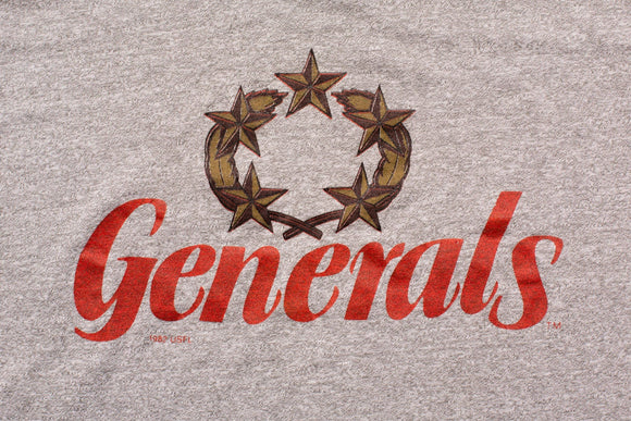 80s New Jersey Generals T-Shirt, S, Vintage 1980s, 1982 USFL Apparel, United States Football League Team, Graphic Tee, Throwback Sportswear