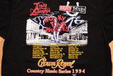 90s Crown Royal Country T-Shirt, XL/2XL, Vintage 1994 Tour, Honky Tonk Heroes