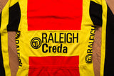 70s-80s Ti Raleigh Pearl Izumi Cycling Jersey, Creda, Campagnolo, Vintage