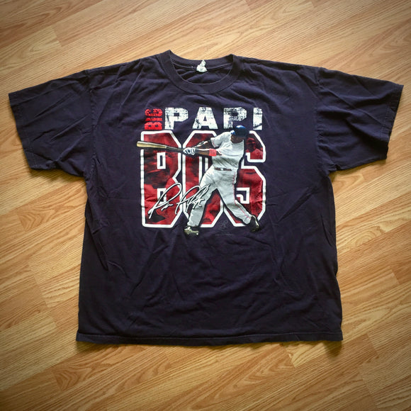 2007 Big Papi David Ortiz T-Shirt, Boston Red Sox