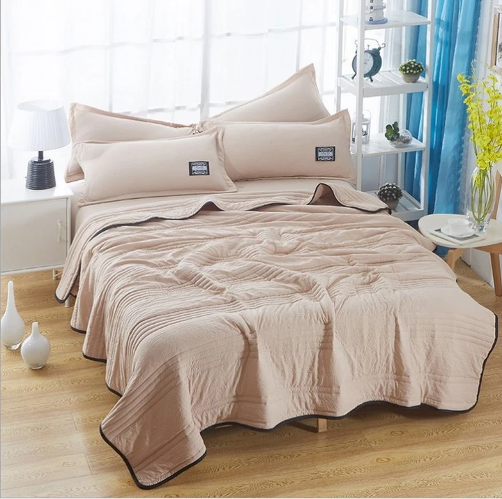 Cool Ice Silk Summer Blanket Queen King Size (Buy 1 get 1  pillowcase Free  )