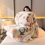 Load image into Gallery viewer, Warm Thickened Natural Cotton Winter Double-Sided Snow Velvet Quilt