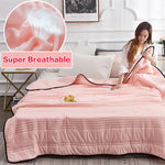 Load image into Gallery viewer, Comfortable -Healthy Sleep- ❄️Cool Ice Silk Summer Blanket Queen King Size-Perfect For Summer(Summer Time Limit-50% OFF)