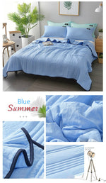 Load image into Gallery viewer, 🔥Free Shipping🔥Comfortable -Healthy Sleep- ❄️Cool Ice Silk Summer Blanket Queen King Size-Perfect For Summer(Summer Time Limit-50% OFF)