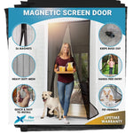 Load image into Gallery viewer, Magnetic Mesh Insect Screen Door