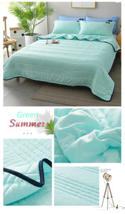 Comfortable -Healthy Sleep- ❄️Cool Ice Silk Summer Blanket Queen King Size-Perfect For Summer(Summer Time Limit-50% OFF)