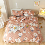 Load image into Gallery viewer, Lula® Strawberry Duvet Cover Set 100% Cotton Bedding set All SIZES