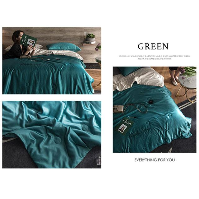 🔥Hot Sell In Summer🔥-✈️❄️Cool Summer Ice Quilt Single King Size-🌈8 Colors For You