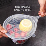 Load image into Gallery viewer, Kitchen Food Storage Silicone Cover-6 PCS