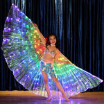 Load image into Gallery viewer, ISINBOBO Dance Moment Store Home Child Rainbow Wings™ - Rainbow LED Wings