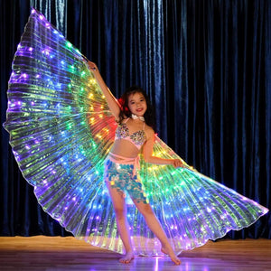 ISINBOBO Dance Moment Store Home Child Rainbow Wings™ - Rainbow LED Wings