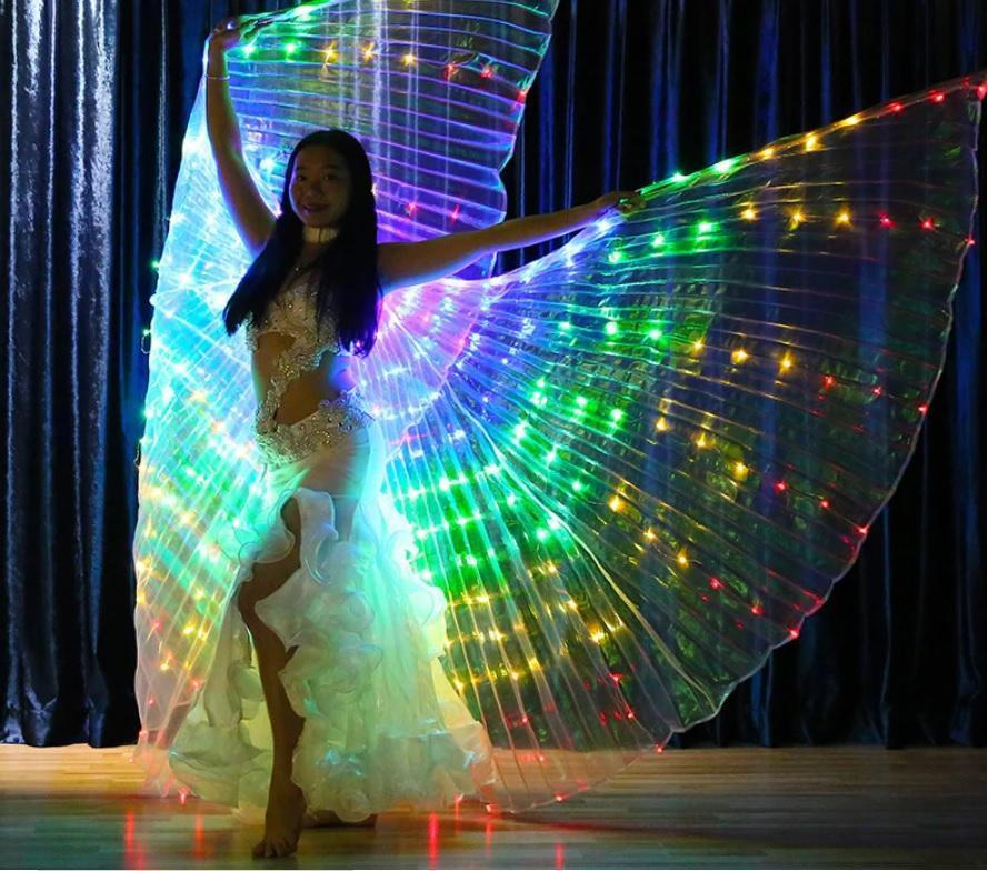 ISINBOBO Dance Moment Store Home Adult Rainbow Wings™ - Rainbow LED Wings