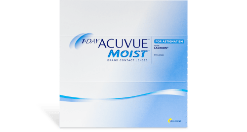 1-Day Acuvue Moist for Astigmatism (Annual Supply of 8 Boxes)