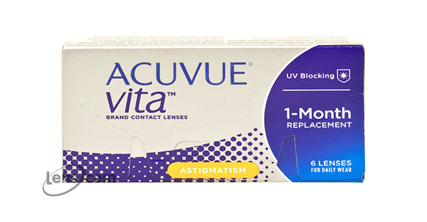 Acuvue Vita for Astigmatism (Annual Supply of 4 Boxes)