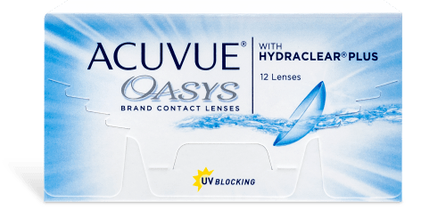 Acuvue Oasys Hydraclear Plus (Annual Supply of 4 Boxes)